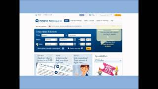 How to plan a journey on the National Rail Enquiries Website video