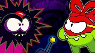 Om Nom Malay | Super Noms | Perang Pawagam | Superhero Cartoons for Kids