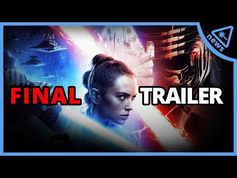 Star Wars: 18 Mind-Blowing Details From The Rise Of Skywalker Trailer! (Nerdist News W/ Amy Vorpahl)