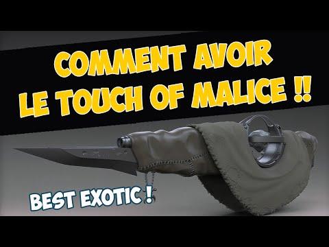 [DESTINY] QUETE DE L'ONCE DE MECHANCETE (TOUCH OF MALICE) - TUTO ET GUIDE FR ARME EXOTIQUE