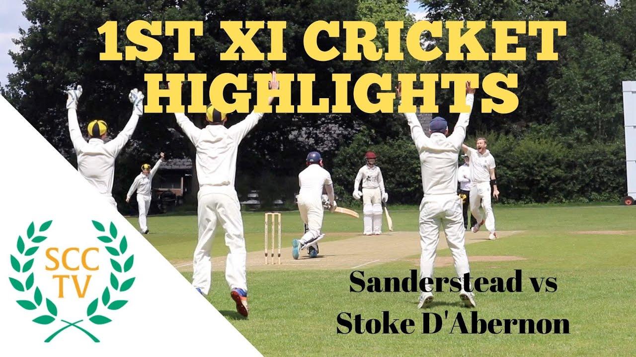 Surrey Championship Div 2 Cricket Highlights Sanderstead 1st Xi Vs Stoke D Abernon 1st Xi