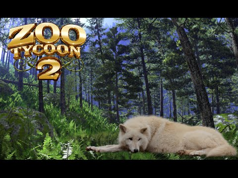 Zoo Tycoon 2: Gray Wolf Exhibit Speed Build