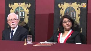 Tema: Dr. Bruce Murphy Profesor Honorario de la UNMSM
