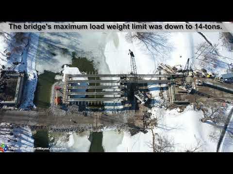 2021/02/23: Van Buren Street Bridge replacement project