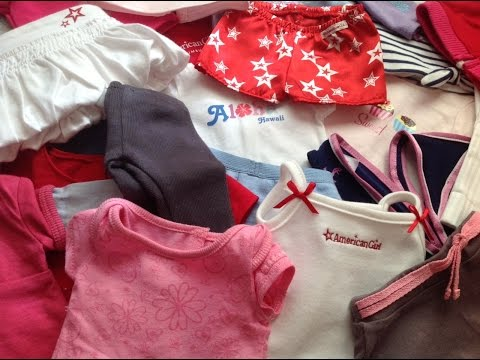 All My American Girl Doll Clothes!