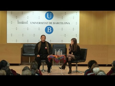 "Public lecture at the University of Barcelona: ""The Question as an Answer for a Better World"""