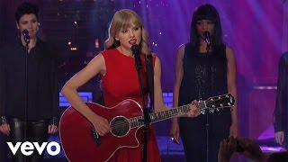 Music video by Taylor Swift performing Begin Again (Live from New Y...