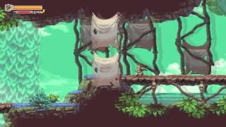 Hidden unused level in Owlboy (shanty town)