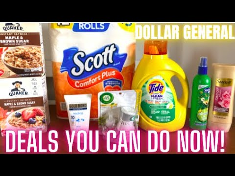 DOLLAR GENERAL COUPONING THIS WEEK! DEALS YOU CAN DO NOW!