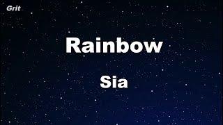 Video Rainbow - Sia Karaoke 【No Guide Melody】 Instrumental download MP3, 3GP, MP4, WEBM, AVI, FLV April 2018