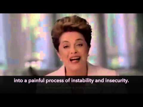 Dilma Addresses The Nation