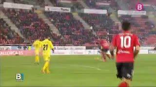 El Mallorca es deixa empatar al darrer minut davant el Girona (1-1)