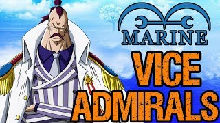 Marine Vice-Admirals - One Piece Discussion