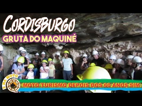 MAQUINÉ GRUTA ENCANTADA - CORDISBURGO - MOTOCICLISMO NA TERCEIRA IDADE SIM