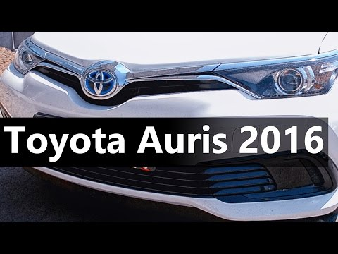 Lovely day for electric Hybrid car | Toyota Auris 2016