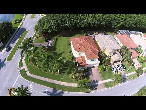 Wellington, FL drone footage.