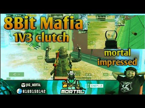 8bit Mafia Flaying Man 1v3 Op Clutch In Pochinki