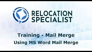 Training Videos - Mail Merge Contacts In Referrals