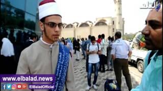 بالفيديو والصور.. الطيب يكرم أوائل الثانوية الأزهرية بقاعة الشيخ زايد