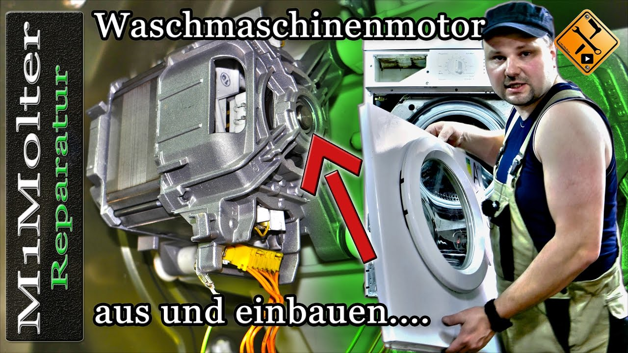 Motor waschmaschine wechseln waschmaschinenmotor austauschen