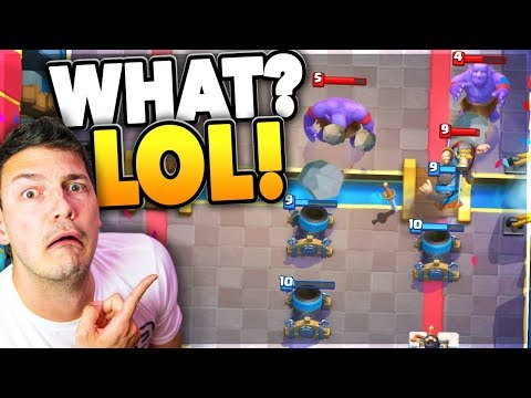 LOL! MORTAR ROYALE! Clash Royale MIRROR DECK MODE