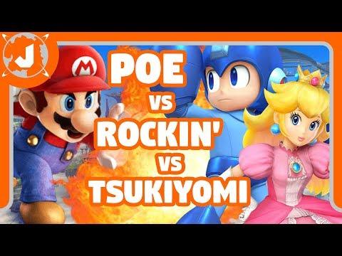 ¡Épica batalla en Super Smash Bros! (Wii U)