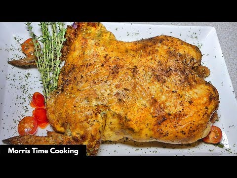 How To Make CousCous Stuffed Oven Roasted Herb Chicken | Lesson #43 | Morris Time Cooking