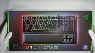Razer Huntsman Elite Keyboard Unboxing | ASMR Unboxing