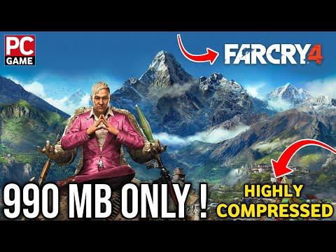[995 MB] Far Cry 4 Highly Compressed Full Version For Pc By Dhruv Gaming - 동영상