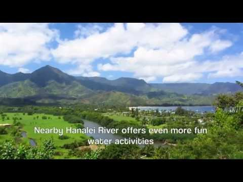 Gorgeous Kauai Hanalei Bay House Vacation Rental just steps to the Beach