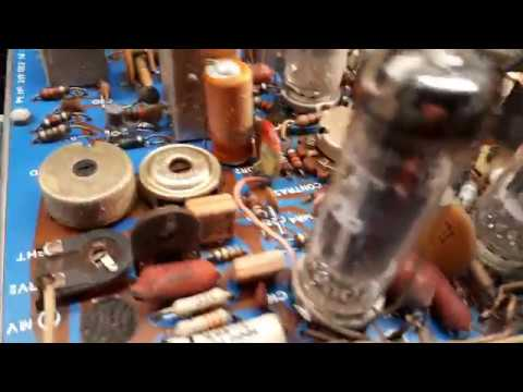 Vintage Pye/Astor 16 Inch T25X Television Repair Part One