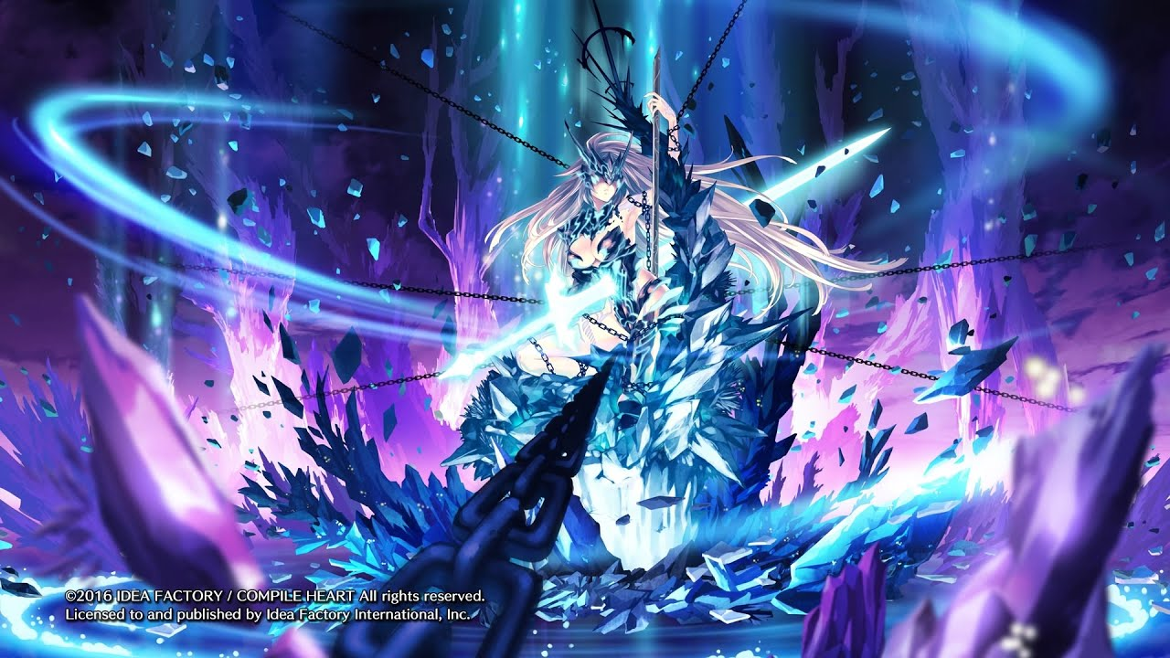 With Out Cloth Girl Wallpaper Fairy Fencer F Advent Dark Force Evil Goddess Final Boss