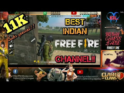 IGL- INDIA'S FASTEST GROWING TOP FREEFIRE CHANNEL|| 11K SUBS FAMILY SPECIAL EPISODE🎉 !!