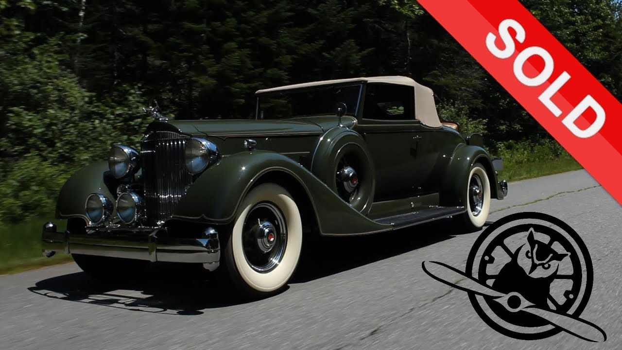 1934 Packard 1108 Twelve Dietrich Stationary Coupe | Concours of ...