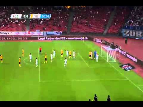 Swiss Super League - FC Zurich vs Young Boys Bern 18/07/2015