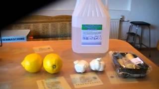 видео Имбирь, чеснок, лимон - чистка сосудов природными средствами