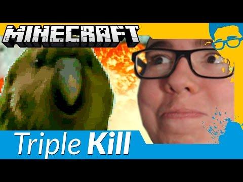 SKY WARS: FAZENDO O MELHOR TRIPLE KILL! - Minecraft