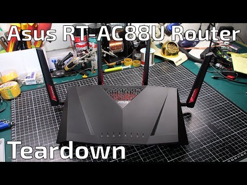 Asus RT-AC88U Wi-Fi Gigabit Router Teardown