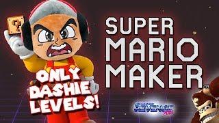 SOLO NIVELES DE DASHIE CTM! Super Mario Maker / RONDAS Mario Kart 8 DLX!