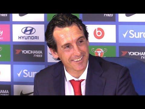 Chelsea 3-2 Arsenal - Unai Emery Full Post Match Press Conference - Premier League