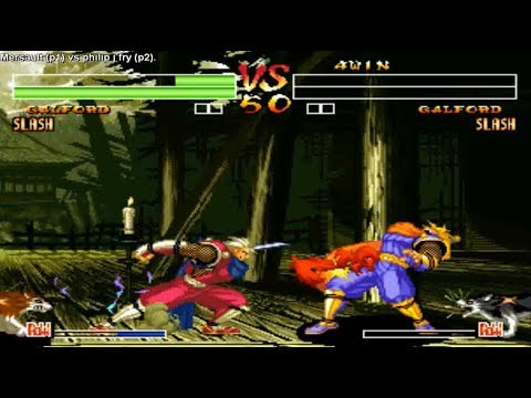 Samurai Shodown IV - Mersault (Colombia) vs philip j fry (Colombia)