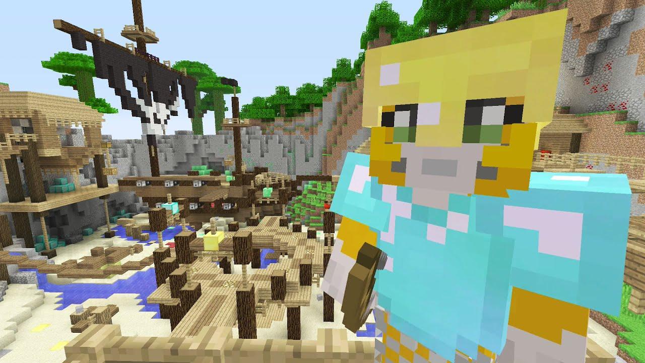 Minecraft Xbox: One - New Battle Mini-Game - YouTube