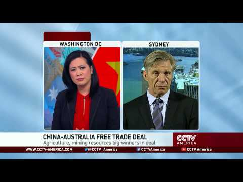 University of Sydney business school professor on China-Australia free trade deal