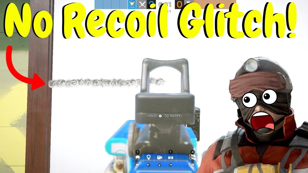 No Recoil Glitch in Rainbow Six Siege
