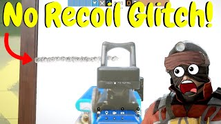 No Recoil Glitch in Rainbow Six Siege