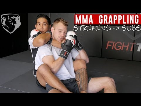 How Strikes Can Create Submissions In MMA