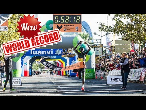 New Half Marathon World Record In Valencia 2018
