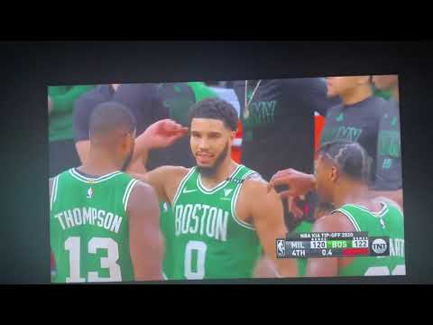 Bucks Fan Reacts To Jayson Tatum Game Winner And Giannis Missed Free Throw.