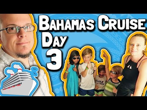 Bahamas Cruise 2018 (Day 3): CocoCay, Rock Climbing, and the Adventure Club ⛵🍹🍖🌴