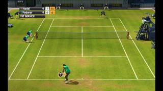 Virtua Tennis 2009 PC Gameplay HD
